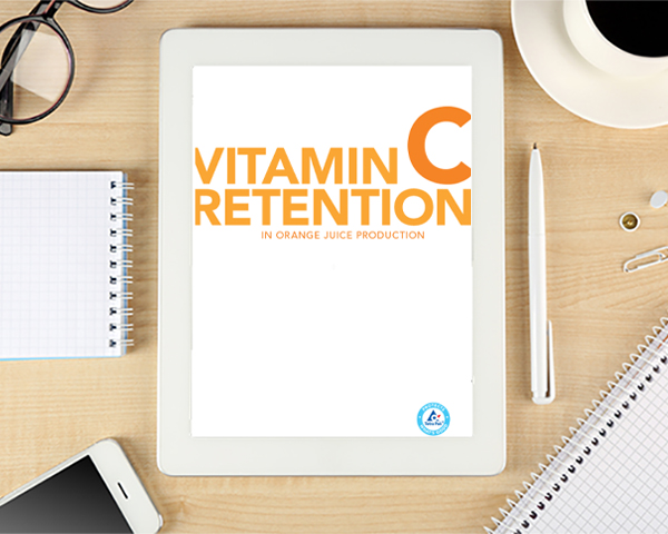 Whitepaper: Vitamin C retention in orange juice production